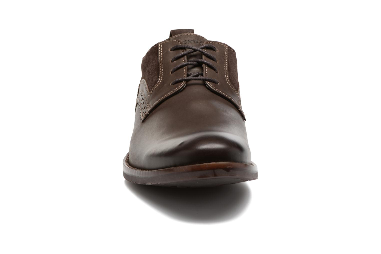 Chaussures à lacets Rockport Wynstin Plain Toe Marron vue portées chaussures