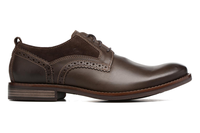 Chaussures à lacets Rockport Wynstin Plain Toe Marron vue derrière
