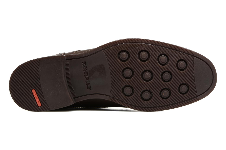 Chaussures à lacets Rockport Wynstin Plain Toe Marron vue haut
