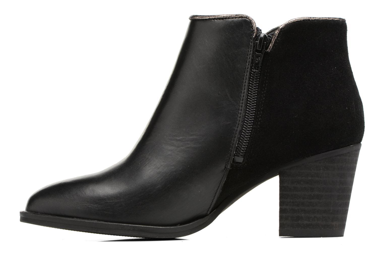 Boots en enkellaarsjes Georgia Rose Catalon Zwart voorkant
