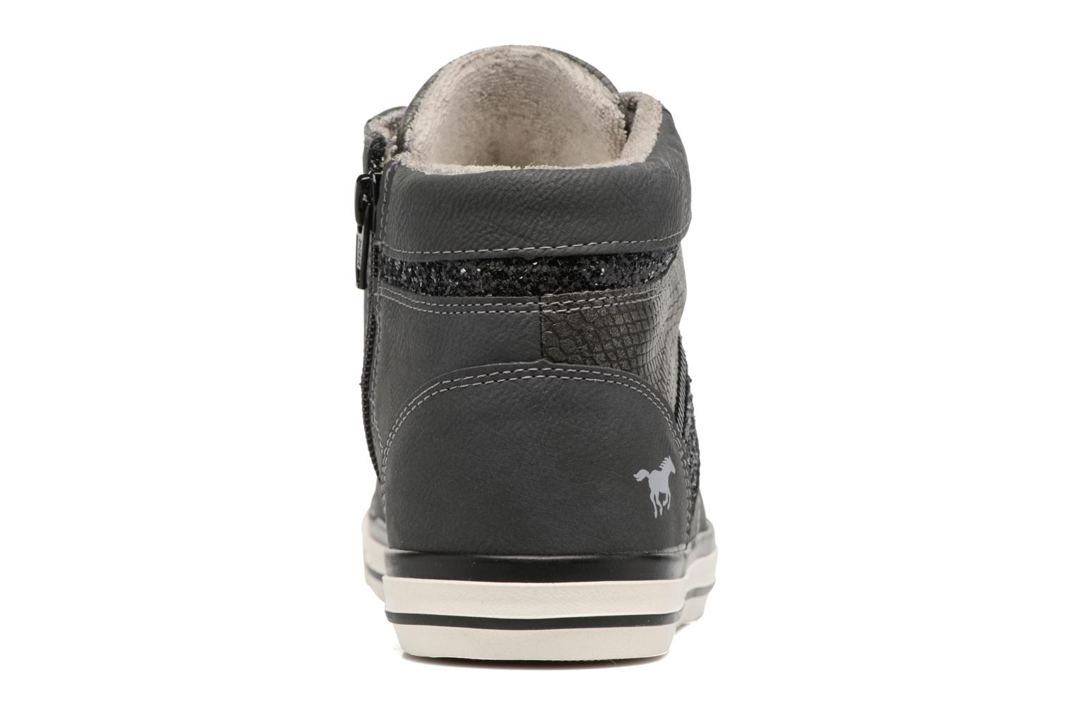Baskets Mustang shoes Eper Gris vue droite