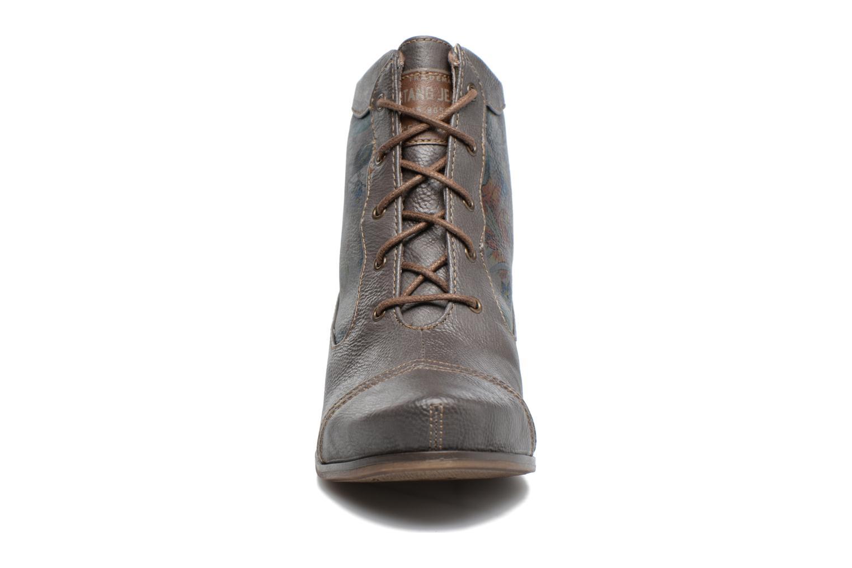 Bottines et boots Mustang shoes Ibine 2 Gris vue portées chaussures