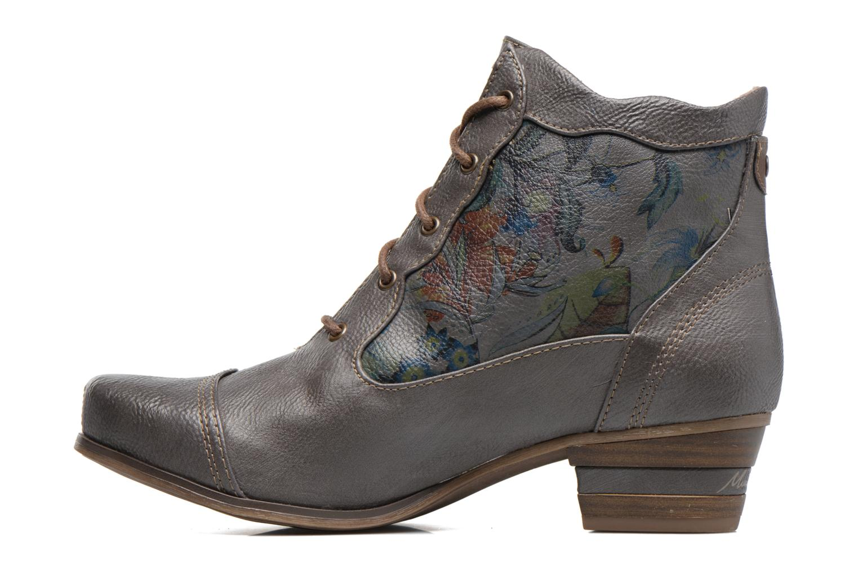 Bottines et boots Mustang shoes Ibine 2 Gris vue face