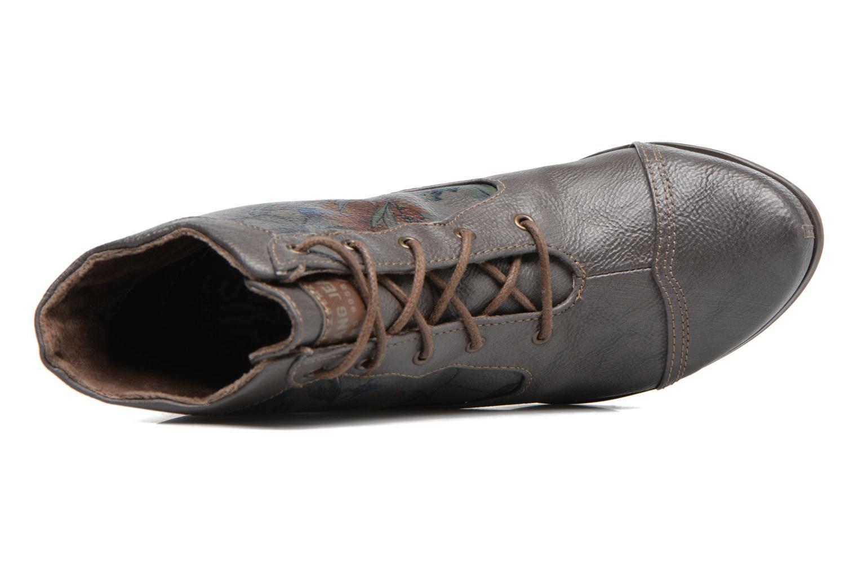 Bottines et boots Mustang shoes Ibine 2 Gris vue gauche