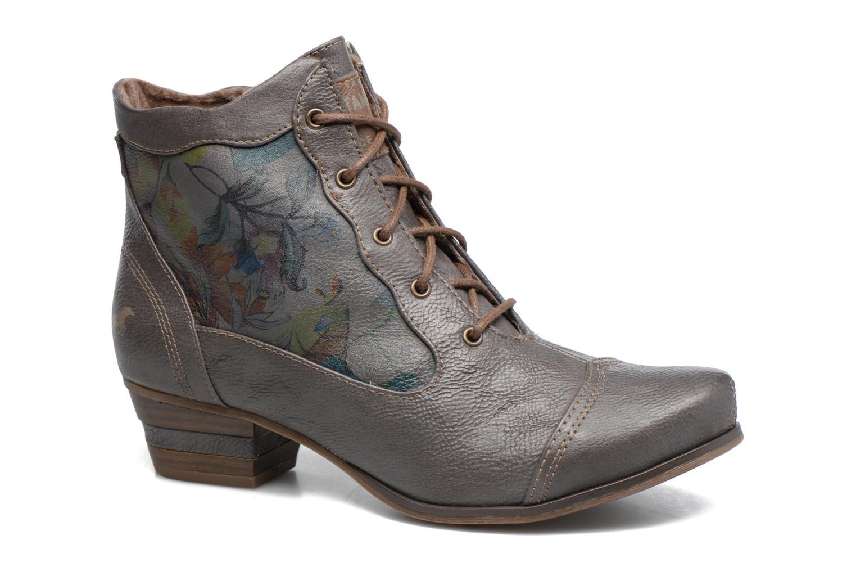 Bottines et boots Mustang shoes Ibine 2 Gris vue détail/paire
