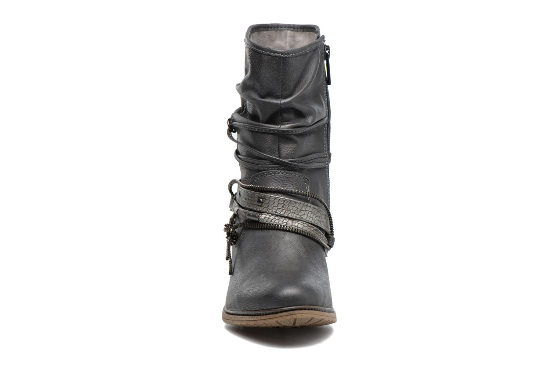 Bottines et boots Mustang shoes Louison 2 Gris vue portées chaussures