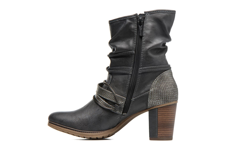 Bottines et boots Mustang shoes Louison 2 Gris vue face
