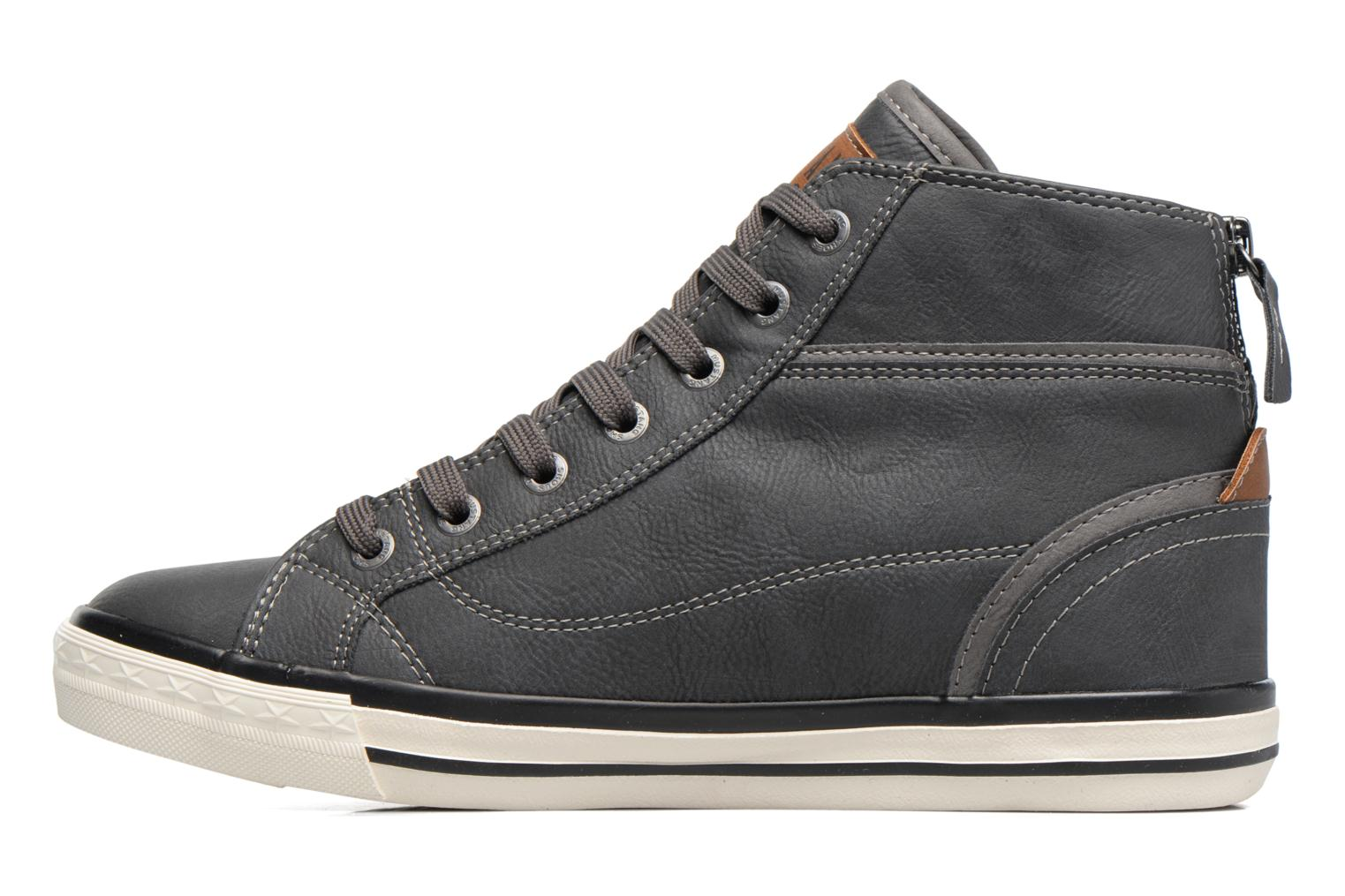 Trainers Mustang shoes Bala Grey front view