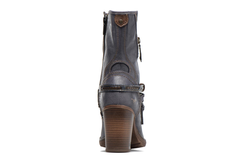 Bottes Mustang shoes Taia Bleu vue droite