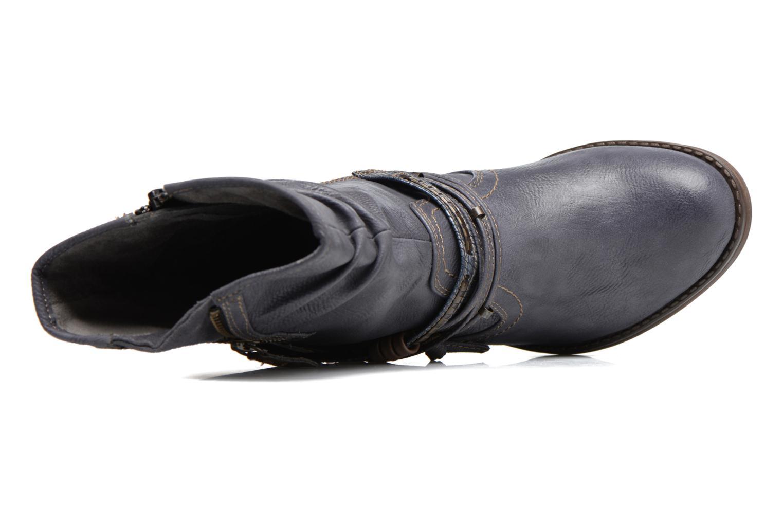 Bottes Mustang shoes Taia Bleu vue gauche