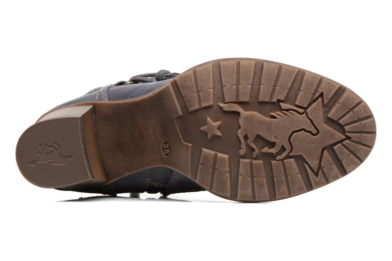 Bottes Mustang shoes Taia Bleu vue haut