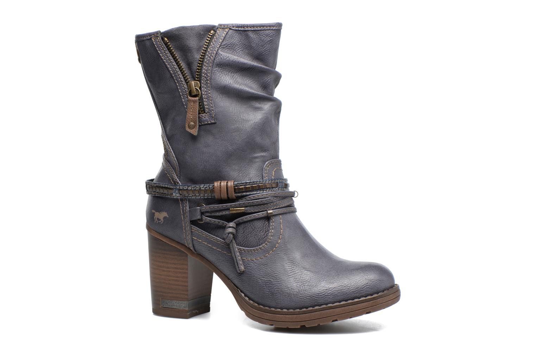 Bottes Mustang shoes Taia Bleu vue détail/paire