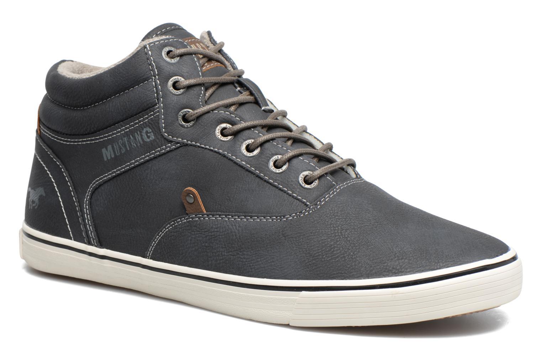 Baskets Mustang shoes Galéo Gris vue détail/paire