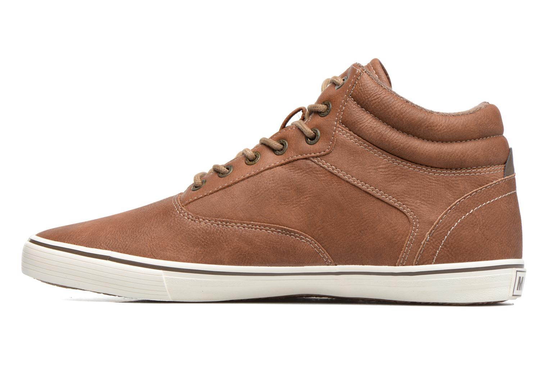 Baskets Mustang shoes Panomé Marron vue face