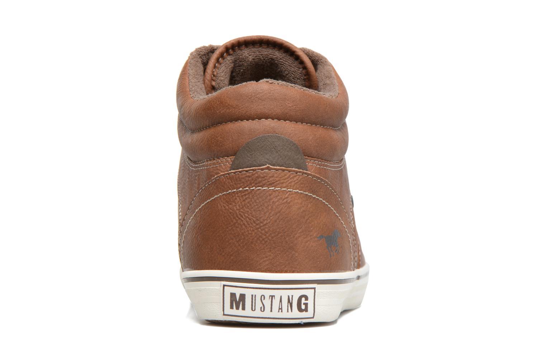 Baskets Mustang shoes Panomé Marron vue droite