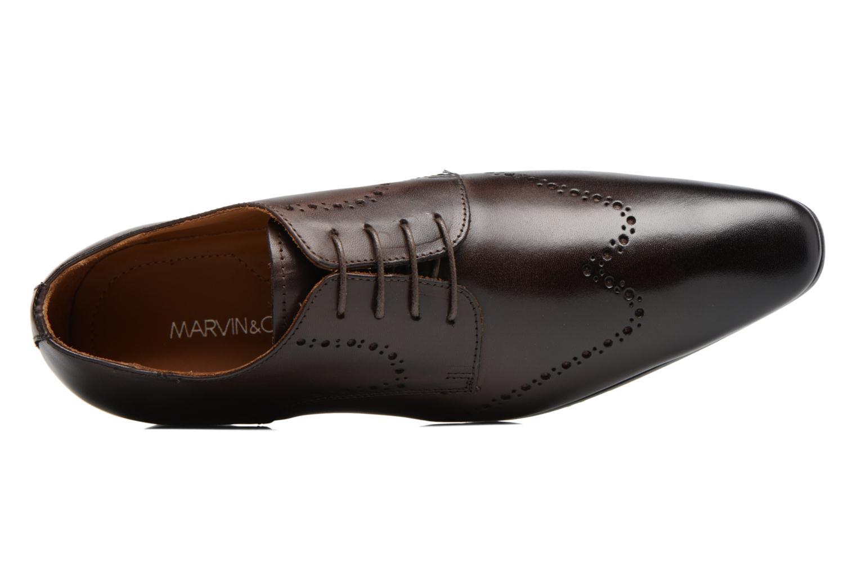 Chaussures à lacets Marvin&Co Nottage Marron vue gauche