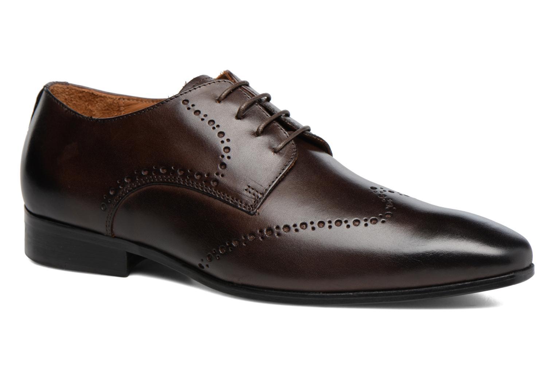 Chaussures à lacets Marvin&Co Nottage Marron vue détail/paire