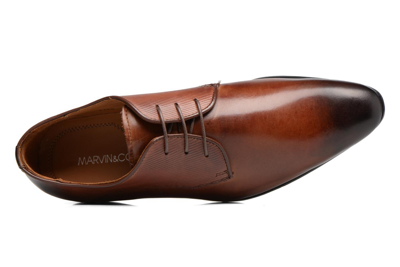 Scarpe con lacci Marvin&Co Northam Marrone immagine sinistra