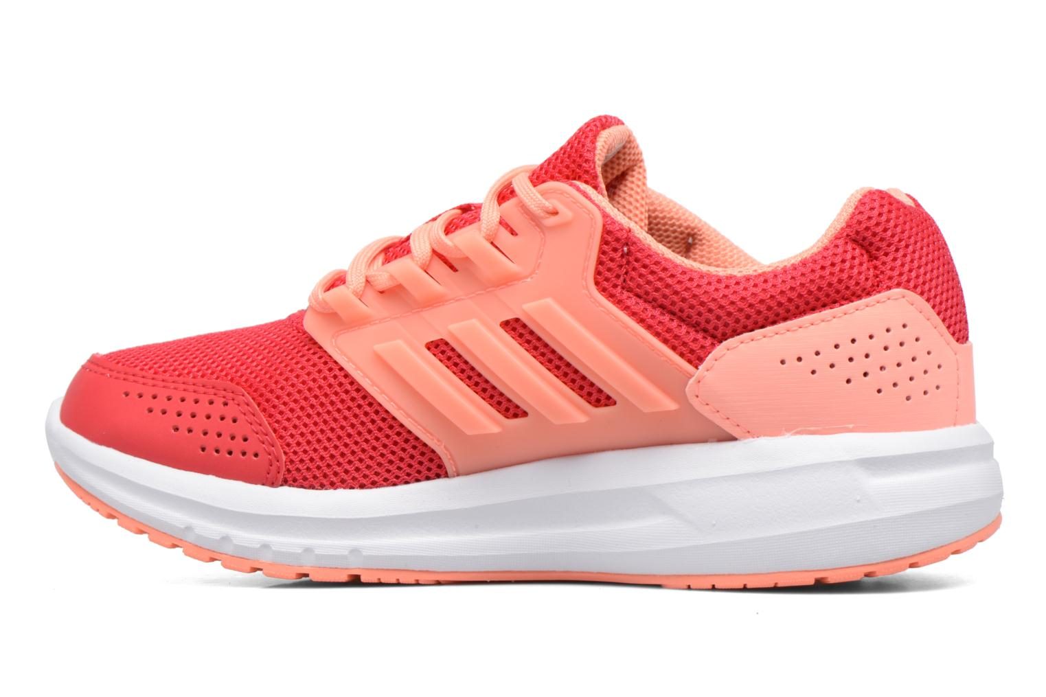 Sport shoes Adidas Performance Galaxy 4 K Pink front view