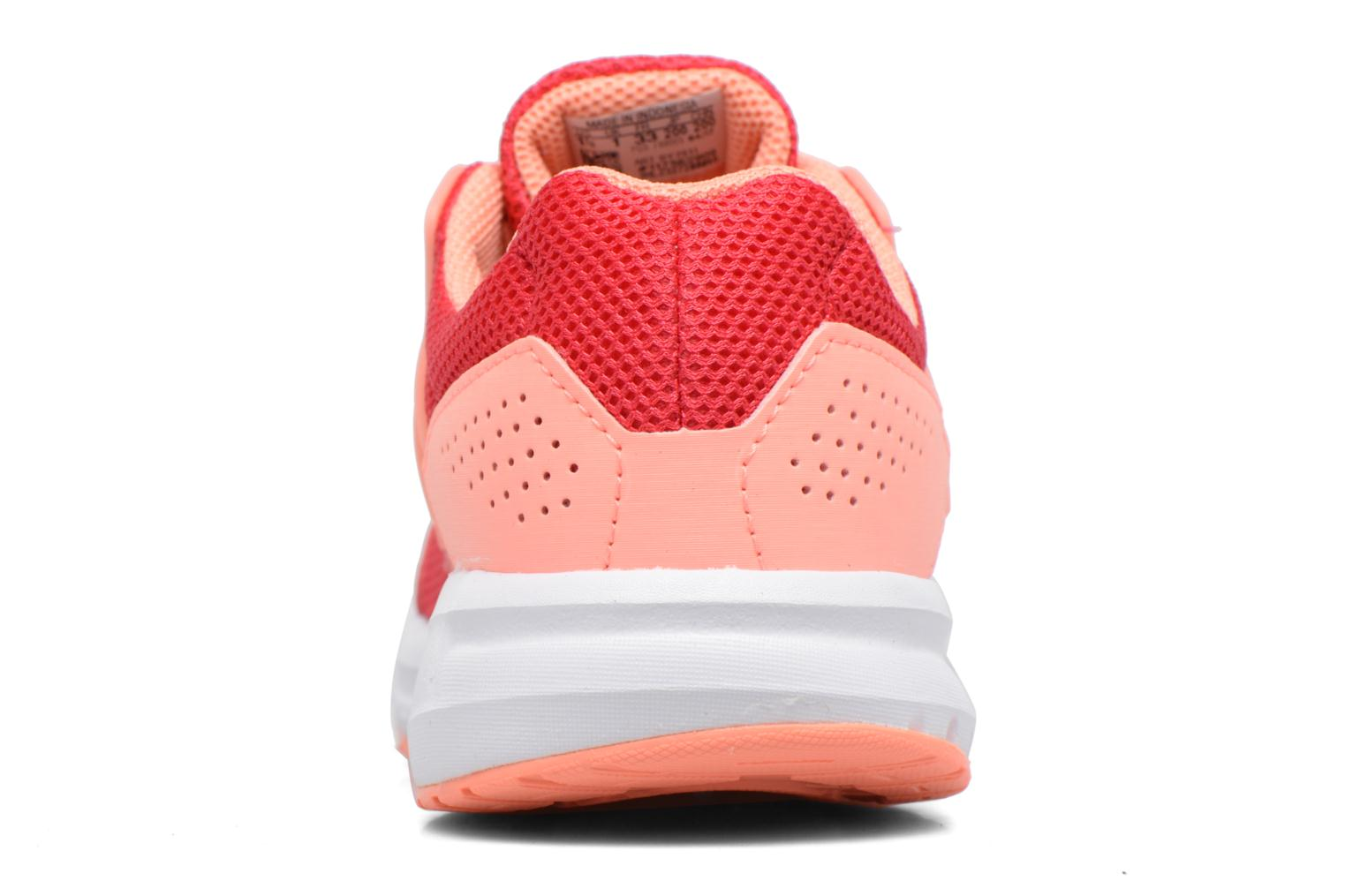 Sport shoes Adidas Performance Galaxy 4 K Pink view from the right