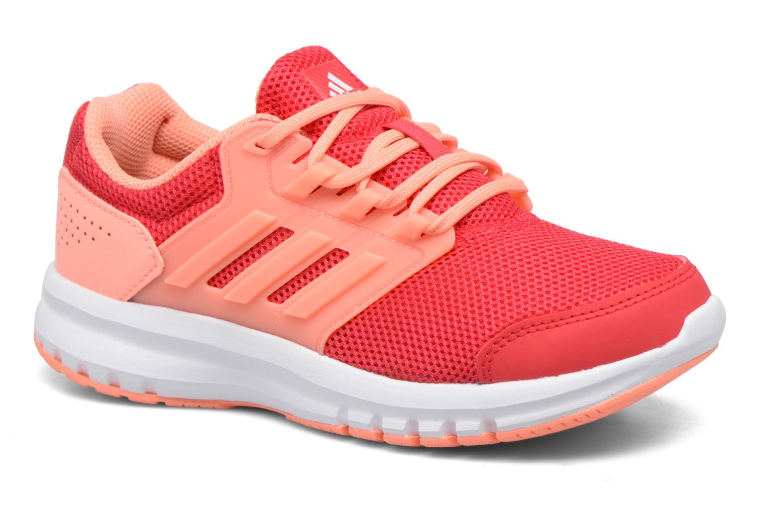 Sport shoes Adidas Performance Galaxy 4 K Pink detailed view/ Pair view