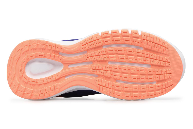Sportschuhe Adidas Performance Galaxy 4 K blau ansicht von oben