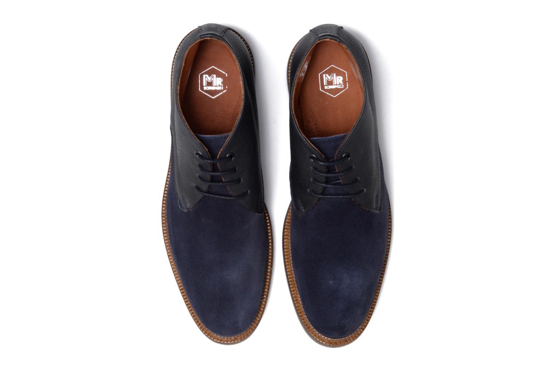 Chaussures à lacets Mr SARENZA Testu Bleu vue portées chaussures