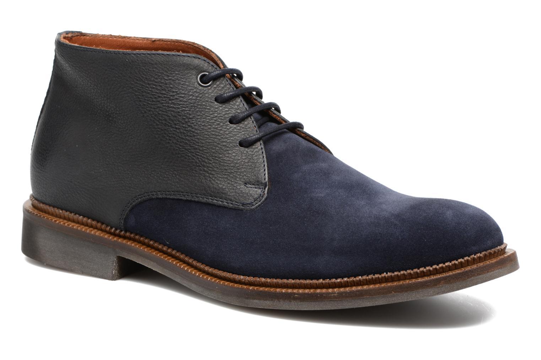 Chaussures à lacets Mr SARENZA Testu Bleu vue droite