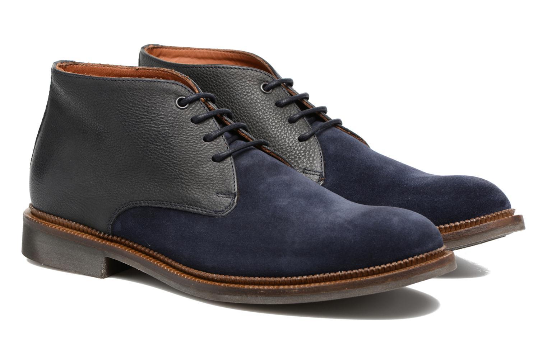 Chaussures à lacets Mr SARENZA Testu Bleu vue derrière