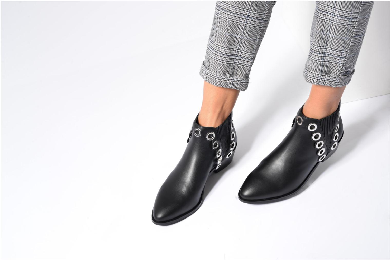 Bottines et boots SENSO Lexi I Noir vue bas / vue portée sac