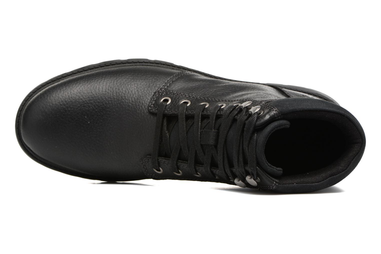 Bottines et boots Caterpillar Nyles Pack Noir vue gauche