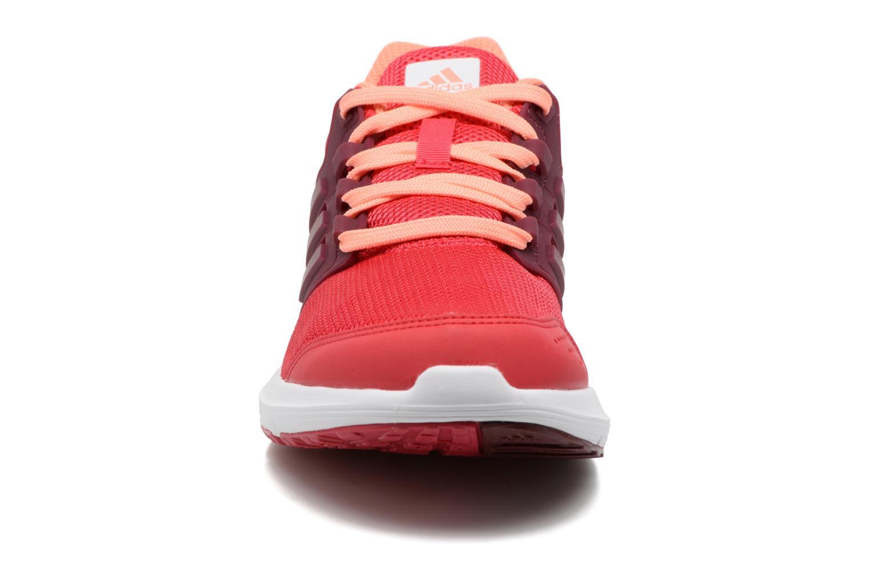 Chaussures de sport Adidas Performance Galaxy 4 W Rouge vue portées chaussures