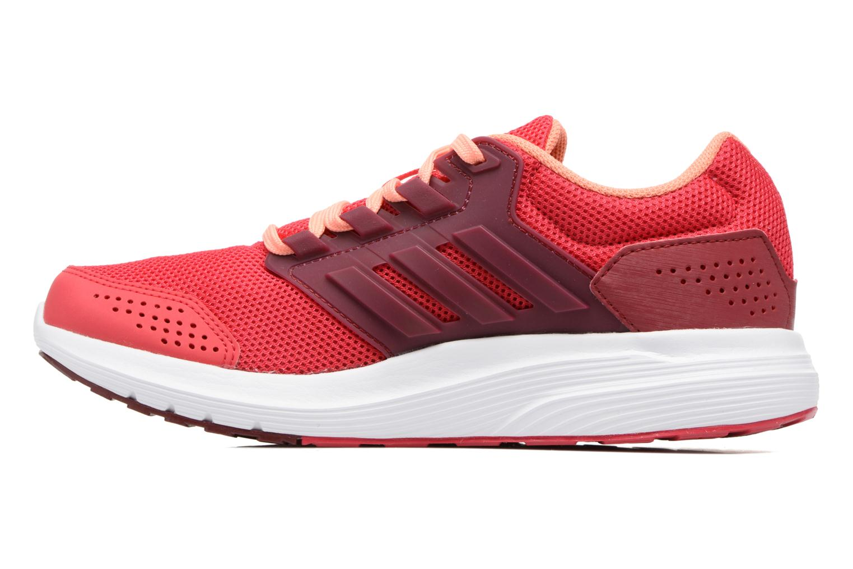 Chaussures de sport Adidas Performance Galaxy 4 W Rouge vue face