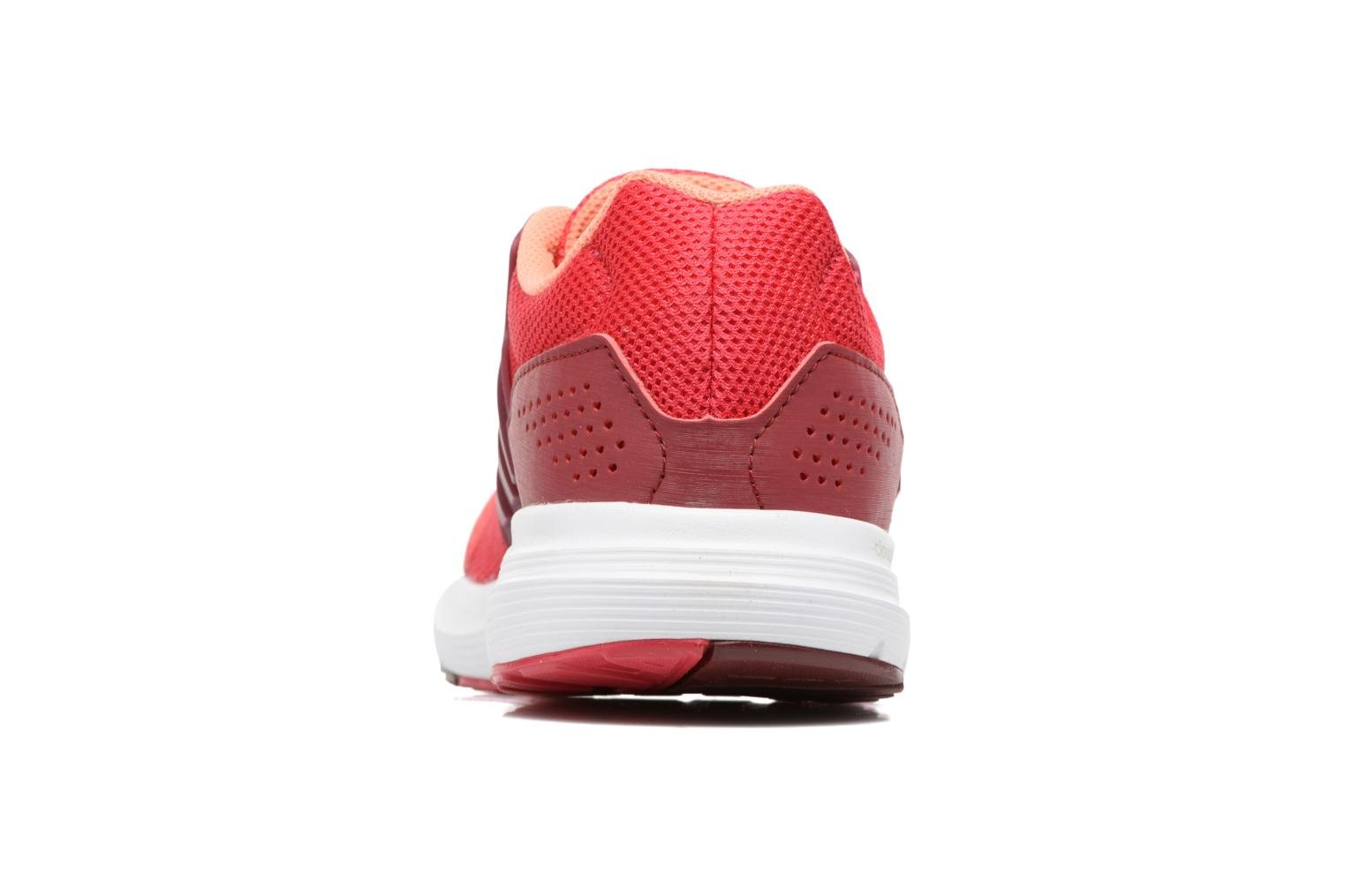 Sport shoes Adidas Performance Galaxy 4 W Red view from the right