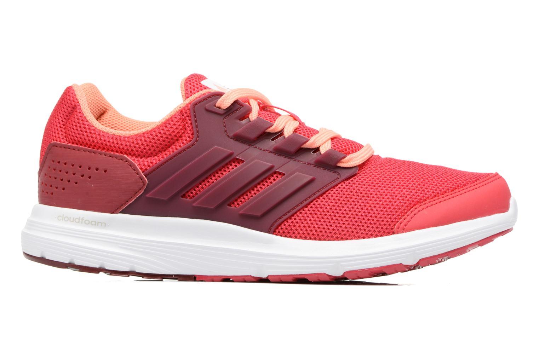 Chaussures de sport Adidas Performance Galaxy 4 W Rouge vue derrière