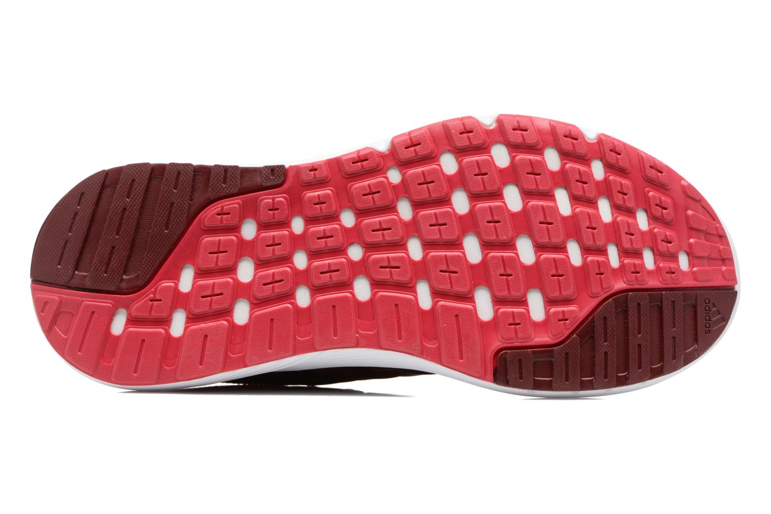 Sport shoes Adidas Performance Galaxy 4 W Red view from above
