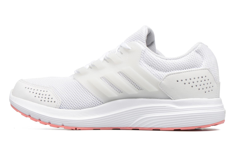 Chaussures de sport Adidas Performance Galaxy 4 W Blanc vue face