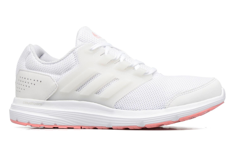 Chaussures de sport Adidas Performance Galaxy 4 W Blanc vue derrière