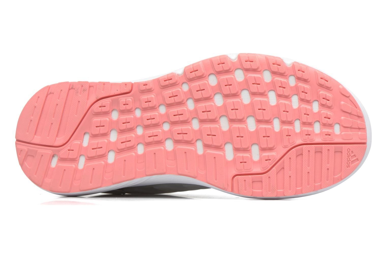 Chaussures de sport Adidas Performance Galaxy 4 W Blanc vue haut