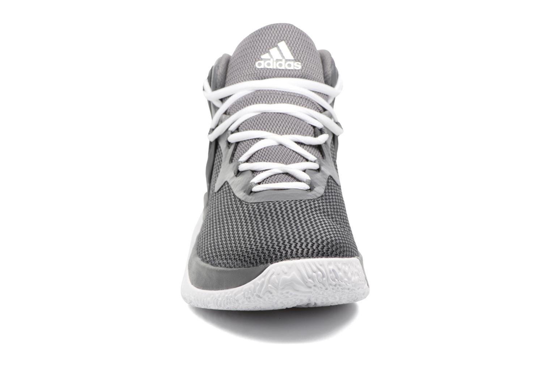 Chaussures de sport Adidas Performance Explosive Bounce Gris vue portées chaussures