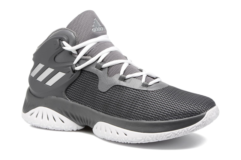Chaussures de sport Adidas Performance Explosive Bounce Gris vue détail/paire