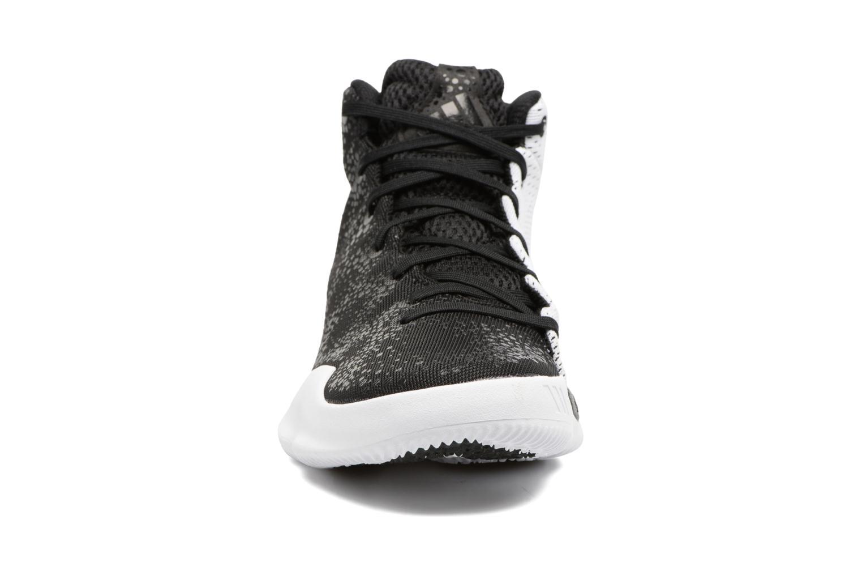 Chaussures de sport Adidas Performance Crazy Heat Noir vue portées chaussures