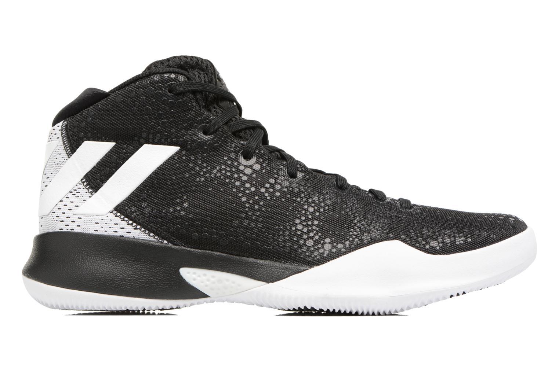 Chaussures de sport Adidas Performance Crazy Heat Noir vue derrière