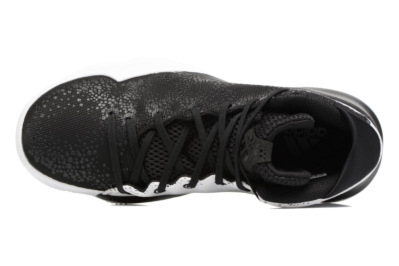 Chaussures de sport Adidas Performance Crazy Heat Noir vue gauche