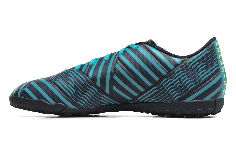 Chaussures de sport Adidas Performance Nemeziz 17.4 Tf Bleu vue face