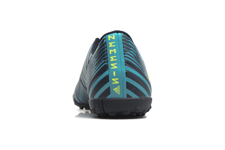 Chaussures de sport Adidas Performance Nemeziz 17.4 Tf Bleu vue droite