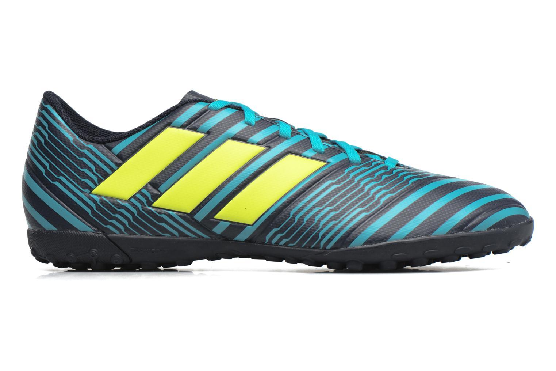 Chaussures de sport Adidas Performance Nemeziz 17.4 Tf Bleu vue derrière