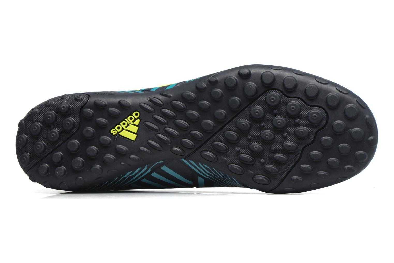 Chaussures de sport Adidas Performance Nemeziz 17.4 Tf Bleu vue haut