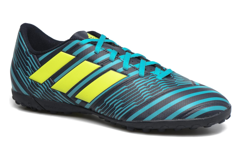 Chaussures de sport Adidas Performance Nemeziz 17.4 Tf Bleu vue détail/paire