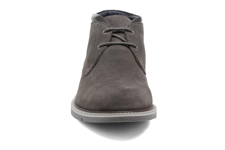 Chaussures à lacets Geox U Uvet B U742QB Gris vue portées chaussures